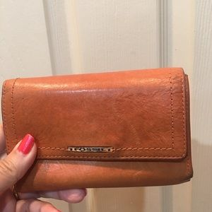 Vintage fossil leather wallet